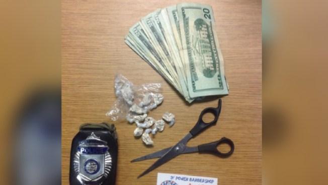 Arresto por presunto tráfico de heroína en barbería