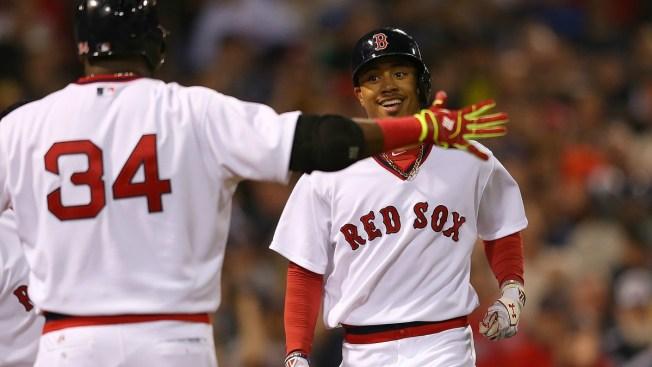 Paliza de los Red Sox a los Indios 9-1