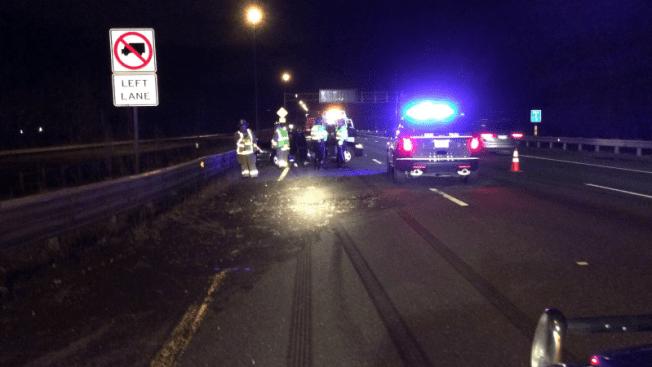 Pánico en I-91 por conductor en contravía