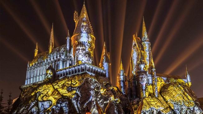 """Espectáculo de proyecciones """"Dark Arts at Hogwarts Castle"""" debuta en Universal"""