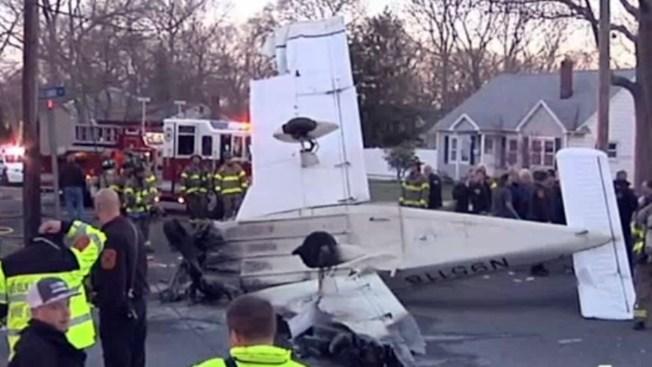 Avioneta se estrella en Long Island y deja dos heridos