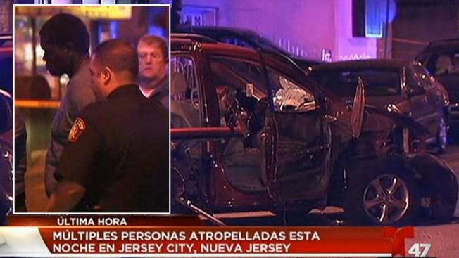 Choque en Jersey City deja siete heridos