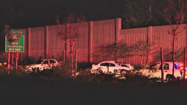 Policías heridos tras choque en Long Island