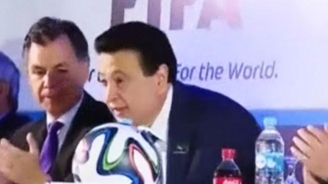Ex presidente de FIFA se declara culpable de recibir sobornos