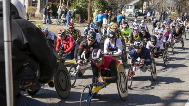 Ganadores en categoría sobre silla de ruedas