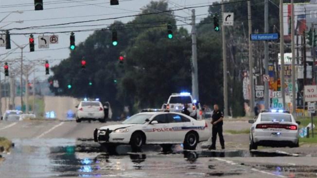 "Exsoldado mató a policías en Baton Rouge en ""emboscada"""