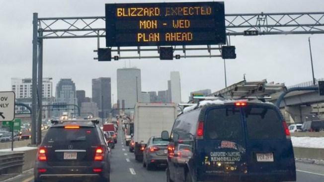 Policía alerta sobre conducir durante nevada