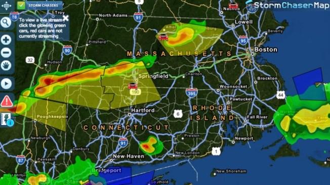 Pasa peligro por tormentas en Mass. menos Cape Cod