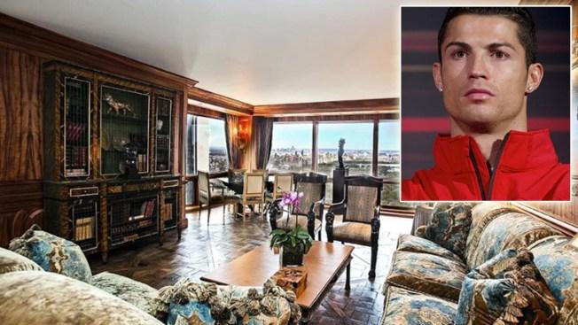 El nuevo hogar de Cristiano Ronaldo en NY