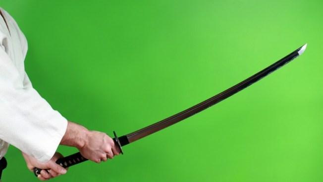 Presunto autor de crimen con espada de samurai