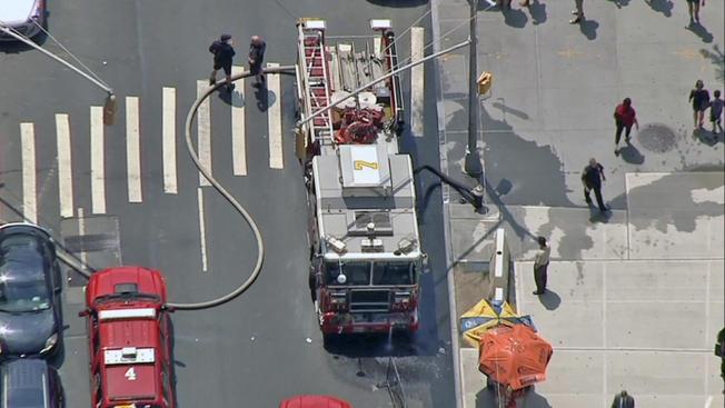 Incendio provoca evacuación de una corte en Manhattan
