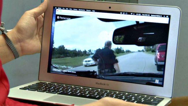 Polémica: policías detienen y transmiten en vivo
