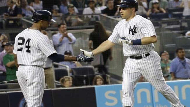Yankees triunfan con imparables de Texeira