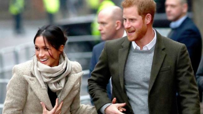 Interceptan carta con polvo sospechoso para Harry y Meghan