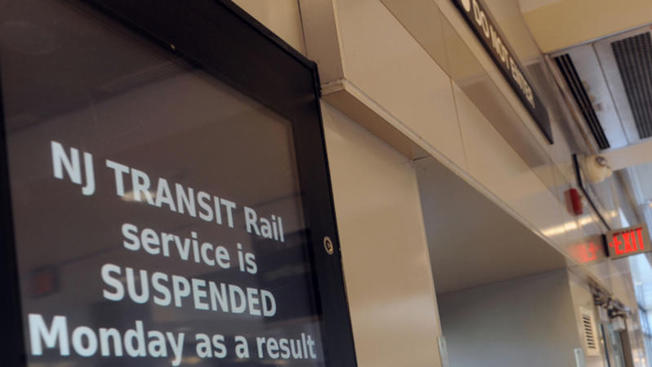 Fallas causan demoras en el servicio de NJ Transit
