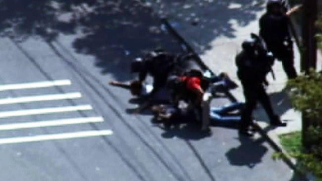 Persecución policial deja un muerto en Newark
