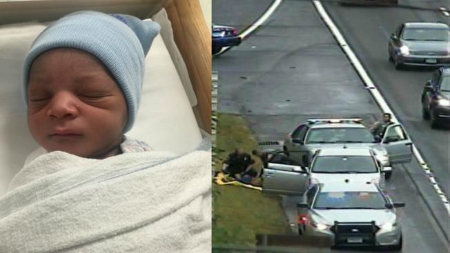 Bebe nace en plena autopista en Connecticut