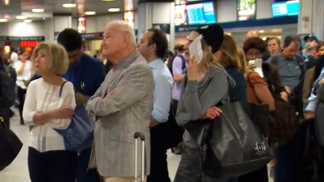 Apagón en Penn Station causa demoras y pánico
