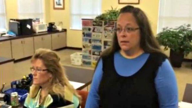 Va presa por negar licencias de matrimonio gay