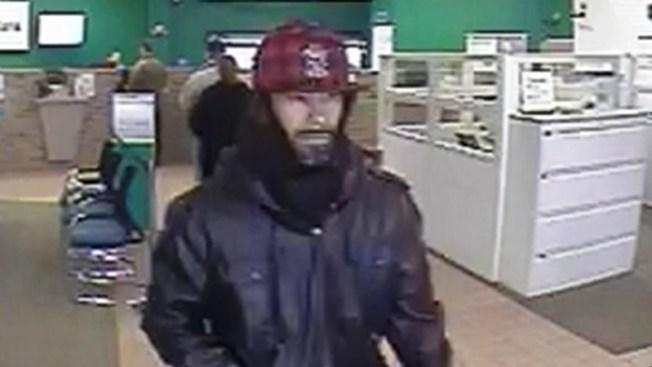 Buscan a sospechoso de robo bancario