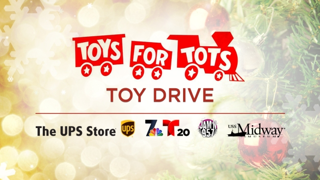 Toys for Tots de San Diego!