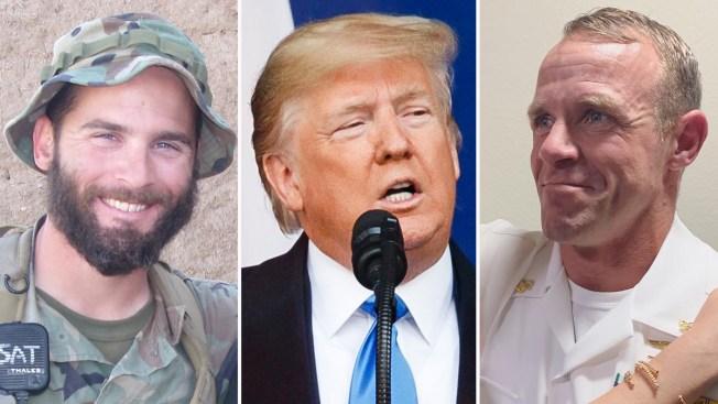 Trump perdona a tres militares vinculados con crímenes de guerra