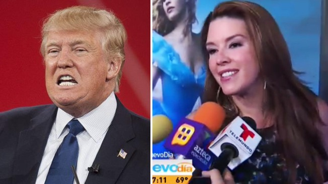 "Alicia Machado narrará ""abusos"" de Trump"