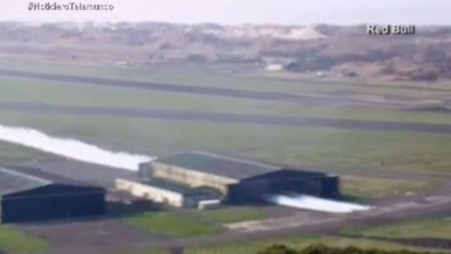 Dos avionetas realizan increíble peripecia