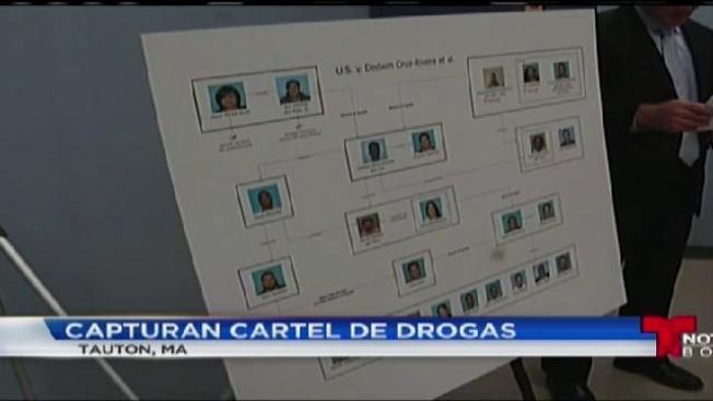 Capturan cartel de drogas de Massachusetts