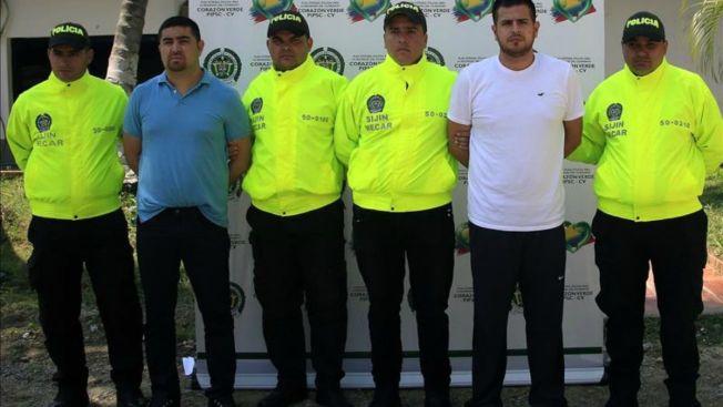Colombia captura a dos presuntos narcos mexicanos