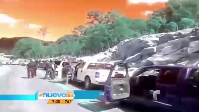 México: difunden video de convoy de sicarios