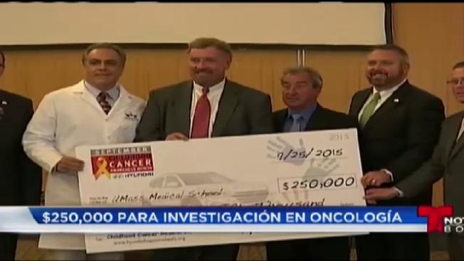 Donan $250,000 para combatir cáncer infantil