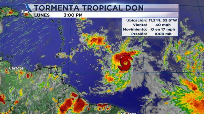 Avanza tormenta tropical