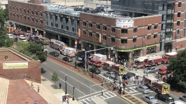 Persona impactada por tren en estación Haymarket en Boston