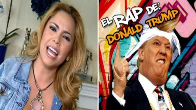 Érika Vidrio escribe rap a Donald Trump