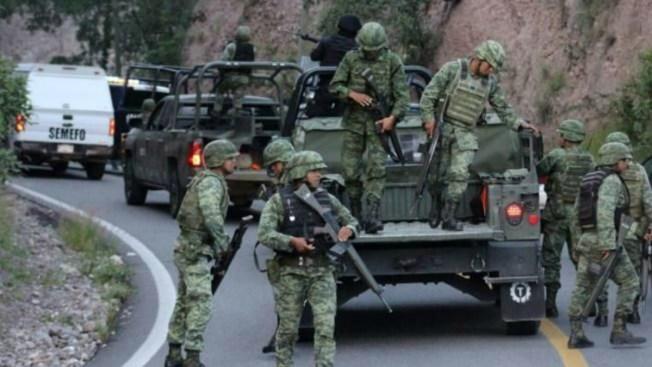 Militares abaten a siete presuntos delincuentes