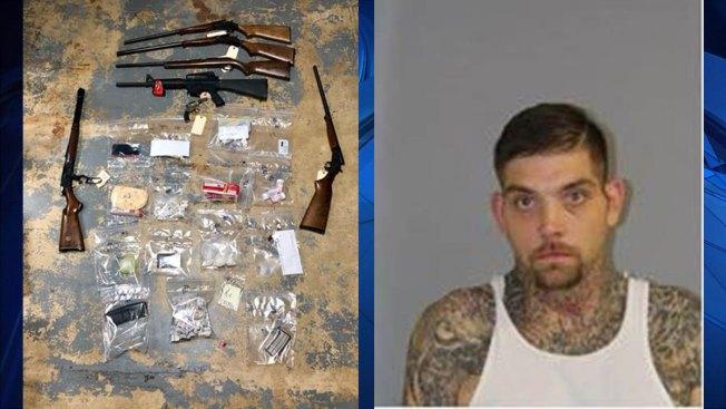 Arrestan pareja por drogas y armas en Connecticut