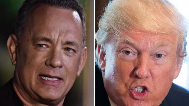 """Tom Hanks arremete contra Trump por """"metedura de pata"""""""