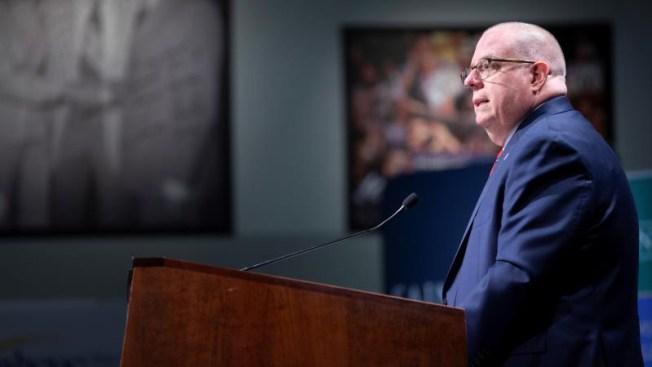 Gobernador de Maryland, Larry Hogan, descarta competir por la nominación republicana