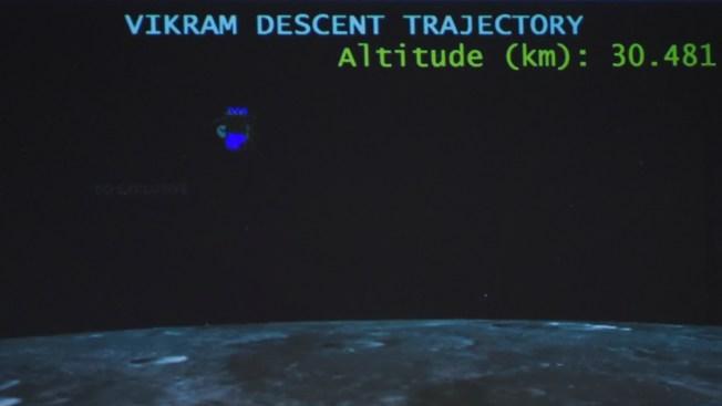 Módulo de la India aparece en la Luna tras pérdida de contacto