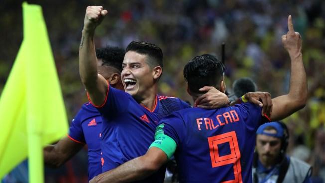 James y Falcao encabezan la selección de Colombia