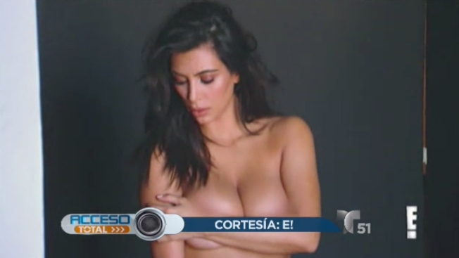 El desnudo que no has visto de Kim Kardashian