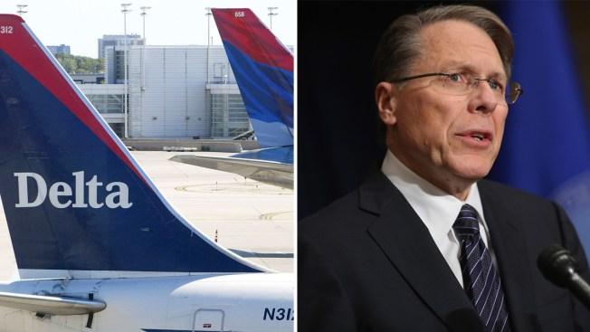 Aerolíneas y otras compañías cortan lazos con la NRA