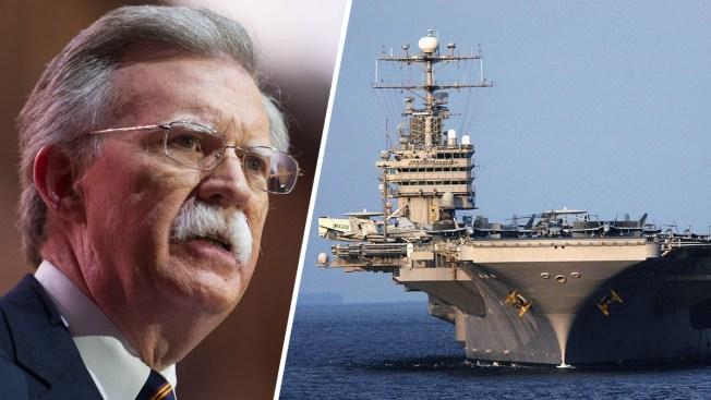 EEUU anuncia despliegue militar para presionar a Irán