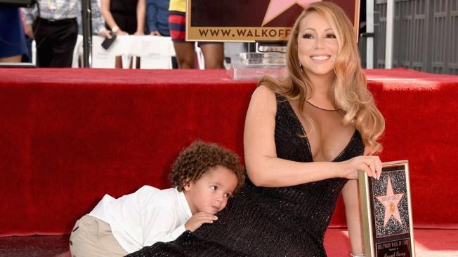 Hijos de Mariah Carey se roban el show