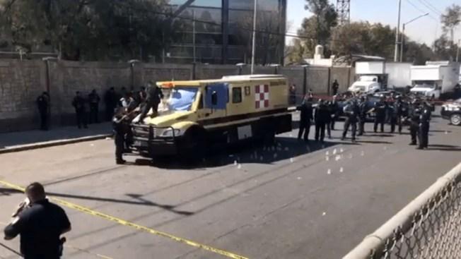 Matan a tiros a custodios de caudales cerca de aeropuerto