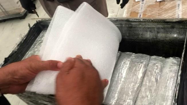Decomisan droga crystal con valor de $76 millones