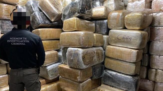 Decomisan 9 toneladas de marihuana en la frontera