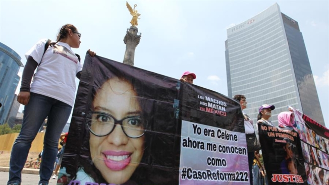 Marchan en silencio contra ola de feminicidios
