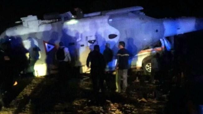 México: 14 muertos por caída de helicóptero con funcionarios